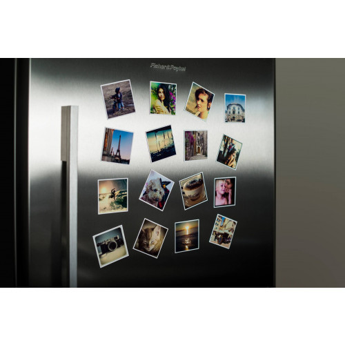 Personalised photo fridge magnets- set of 8 with white border