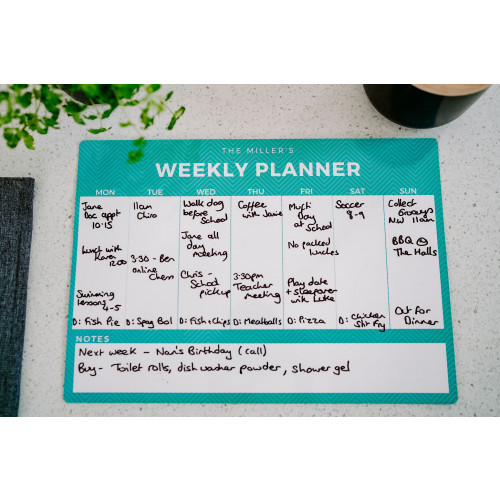 Magnetic Weekly Planners | Personalised Planners| NZ Magnets