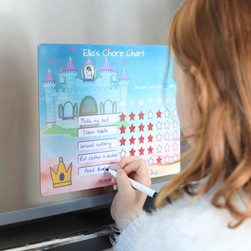 Princess Chore Chart