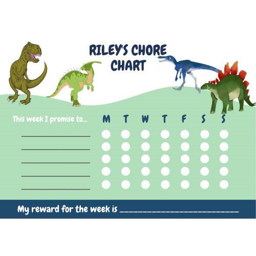 Dinosaur Star Chart