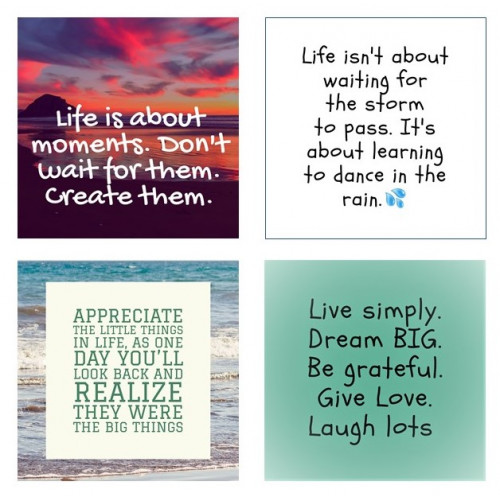 Positive Quote Magnets | Fridge Magnets | Gift Magnets | MagnaPix