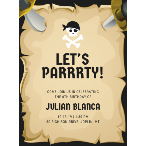 Princess Party | Fridge Magnet Invite