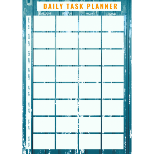 Magnets NZ | Magnets AU | Daily Planner | Organiser | Magnetic Planner