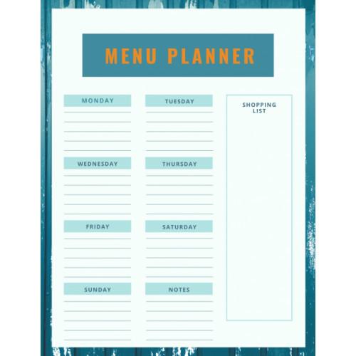 Magnets | Magnets AU | Fridge Menu Planner | Meal Planner
